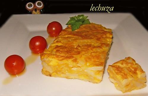 Tortilla española-plato.