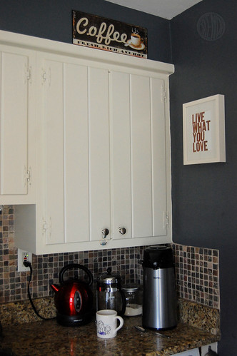 coffee nook of kitchen