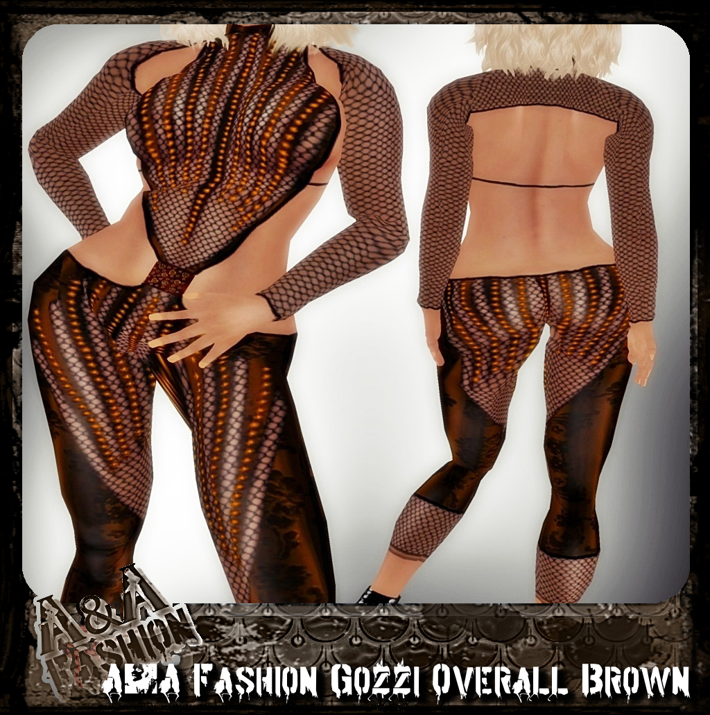 A&A Fashion Gozzi Overall brown