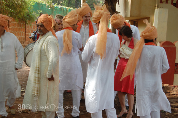 Groom's boys in turban