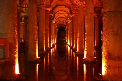 Basílica del agua Estambul