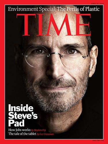 Steve Jobs iPad - Time Magazine