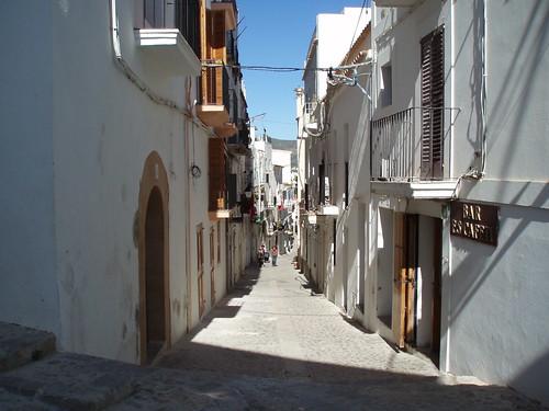 Calles de Ibiza Foto