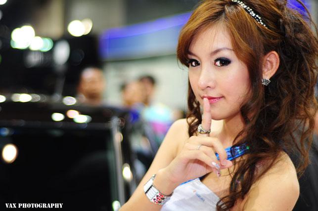 Bangkok Motor show girls 17