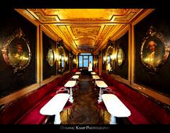 Caff Florian - Venice (Dominic Kamp) Tags: world venice italy st milk cafe san place marcus marco espresso florian latte cappuccino venezia venedig leche oldest dominic macchiato kamp caffe caff venedigostern2010