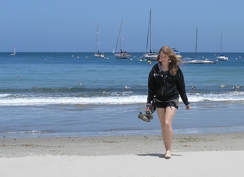 Karen on the Beach