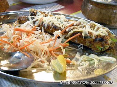 A kebab