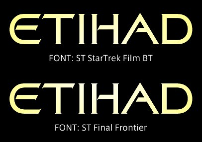 STARTREK font