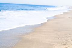 Dark Blue (Kelly Schott) Tags: ocean flowers houses summer sky people plants seagulls beach water birds easter newjersey spring sand candle blackberry footprints bold pointpleasant kellyschott
