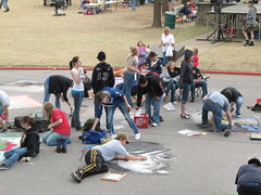 IMG_0387 (intenteffect) Tags: oklahoma festival chalk spring montmarte triad chickasha usao droverstock
