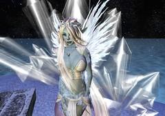 Against The Crystals (Riley Mensing) Tags: avatar medieval sl avatars fairy fantasy secondlife elementa mysticalmagical