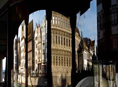 Curved reflection (kimbar/Thanks for 2.5 million views!) Tags: reflection window shop corner switzerland zurich barchetta mywinners