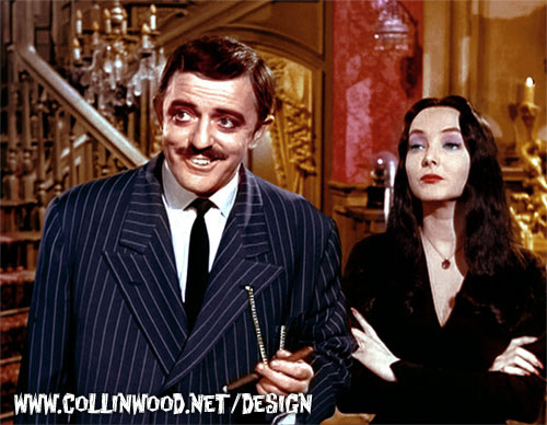 The Addams Family in Color