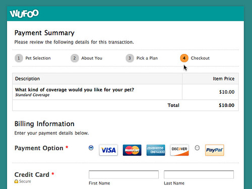 Payment Page Now in Pagination