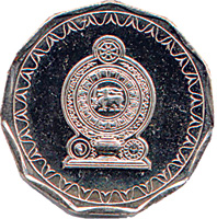 Sri Lanka Ten-Rupee Reverse
