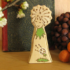 BLOWBALL DANDELION FAIRY - natural toy - carved wooden figure - waldorf inspired (Rjabinnik) Tags: wood family fall forest woodland children toys wooden gnome natural handmade folk burning fairy fantasy montessori homedecor woodworking ecofriendly pretend softsculpture naturetable traditonal childfriendly waldorftoy dollsandminiatures blowballdandelion