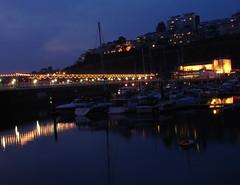 Night shot Torquay Harbour (Dr Tarek) Tags: sea england waterfront unitedkingdom seafront torquay drtarek yahoo:yourpictures=landscape yahoo:yourpictures=waterv2