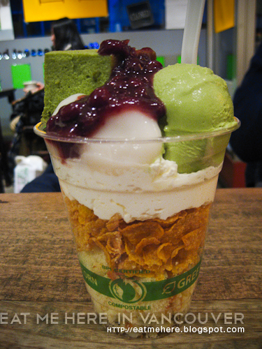 Chicco Cafe: Green Tea Parfait