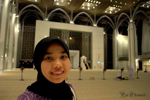 Inside Masjid Besi
