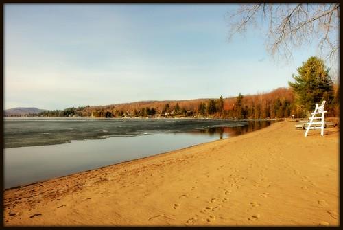 Soir de lac...