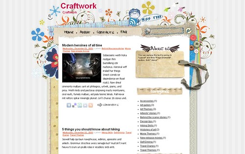 Ezw-Free-Blogger-template-craftwork