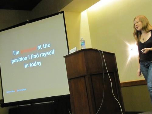 Closing plenary: Whitney Hess
