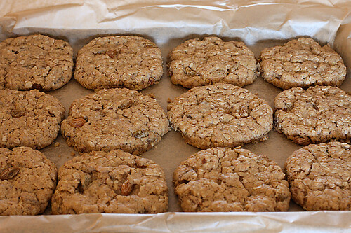 Eggless oatmeal raisin cookie recipe