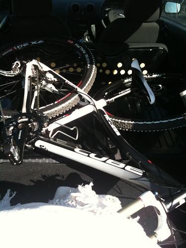 Broken Bike?  nah....