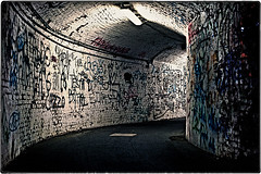 ... IMG_3511 (*melkor*) Tags: city urban art architecture underground geotagged graffiti town experiment tunnel minimal conceptual august2006 melkor anawesomeshot trashbit anurbanundergroundpath enjoyoldiesnow