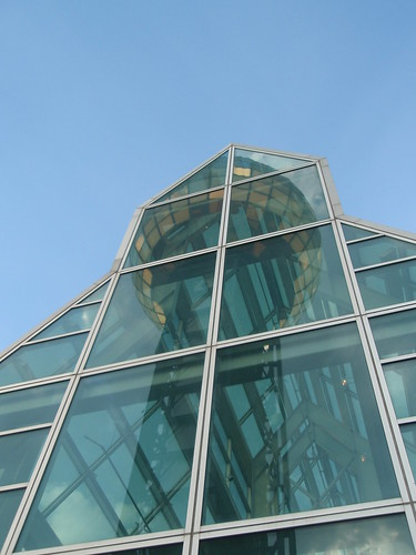 reflected sunsphere