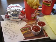 Mon repas décevant chez Wendy's