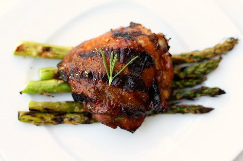 Lemon Rosemary & Balsamic Grilled Chicken Thighs