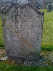Wallace Grave at Cross Kirk, Peebles
