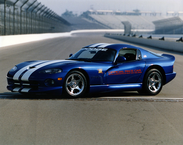 modern race speed cool technology 1996 may indiana racing dodge viper ims gts indy500 pacecars indianapolismotorspeedway thegreatestspectacleinracing robertalutz