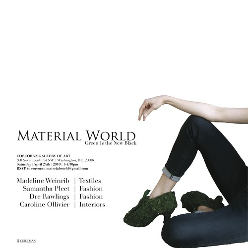 Material World posters leg