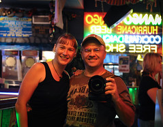 Holly and her bodyguard (path*doc) Tags: mandy me brad flickr meetup neworleans melissa holly bryan slm nerboo