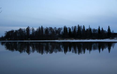 Island reflected