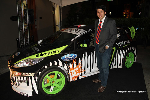 Sam Dela Garza & the Fiesta dream car