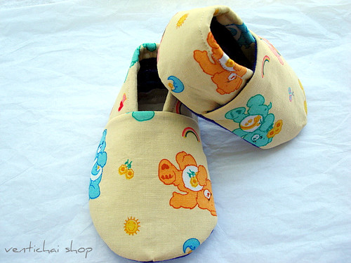Care Bear Bliss Baby Shoes Booties Slippers