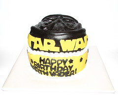 Darth Vader Birthday Cake!