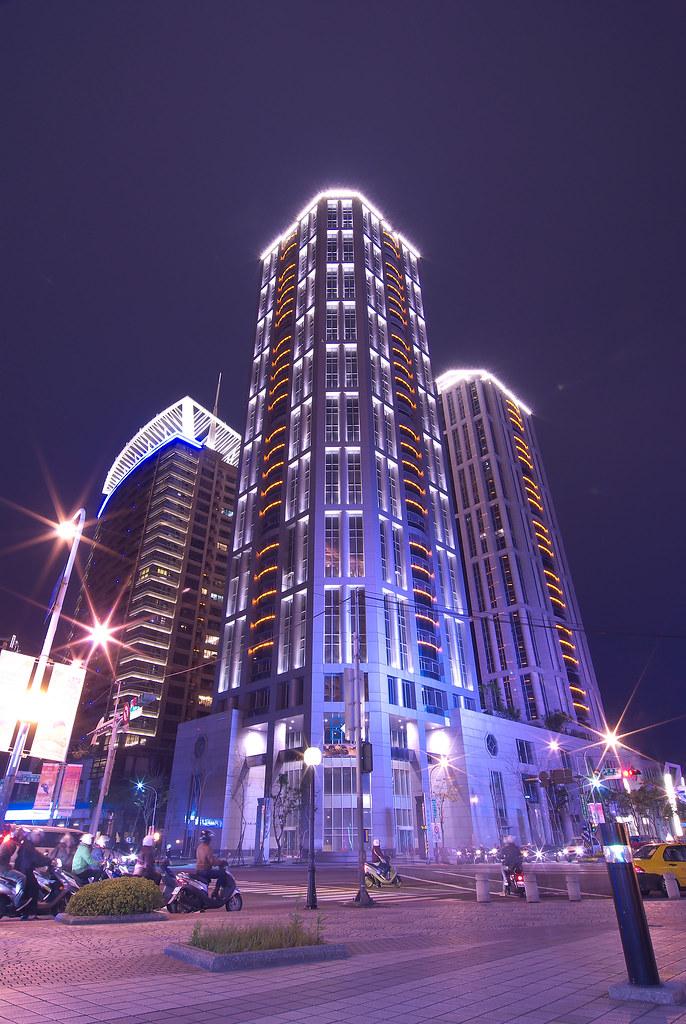 新板特區夜拍