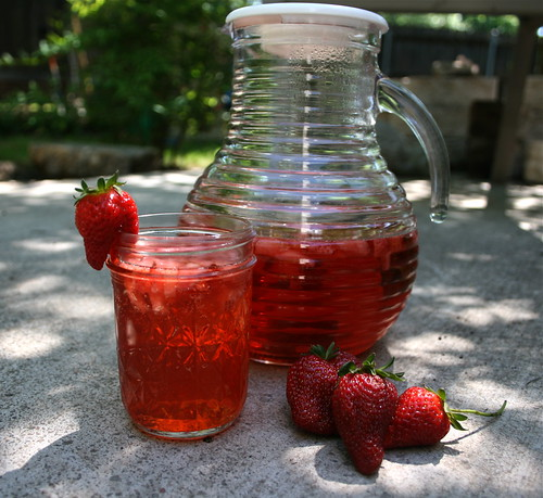 Strawberry Mint - If you like your drinks bubbly, try this Strawberry Mint Sparkles. It contains no alcohol, so it is sure to be a favorite with kids and adults alike!