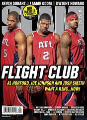 ATL Hawks & the OKC Thunder slam magazine covers