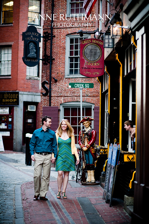 Freedom Trail Engagement Photos