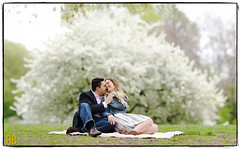 Sundays in the Park with Bokeh (Ryan Brenizer) Tags: woman man love brooklyn engagement nikon bokeh prospectpark 135mmf2ddc d3s bokehrama bokehpanorama brenizermethod