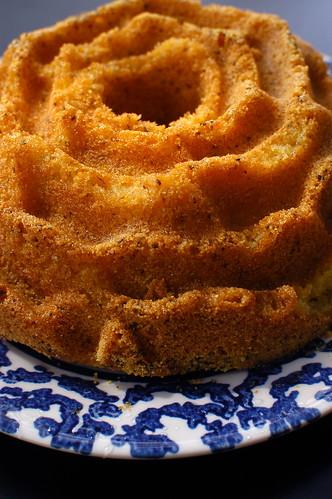 rosemary polenta olive oil cake