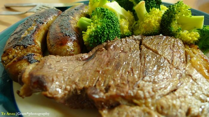 Te Anau的美味晚餐