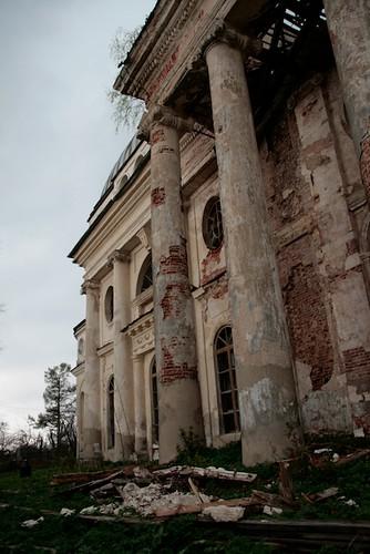 Kazan church of Yaropolets estate. Казанская церковь усадьбы Ярополец(1798)
