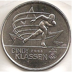 25 centov Kanada 2006, OH Cindy Klassen