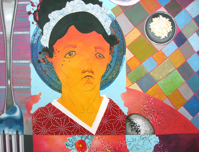 Our Lady of Leftovers, detail, 2010 by Sarah Atlee